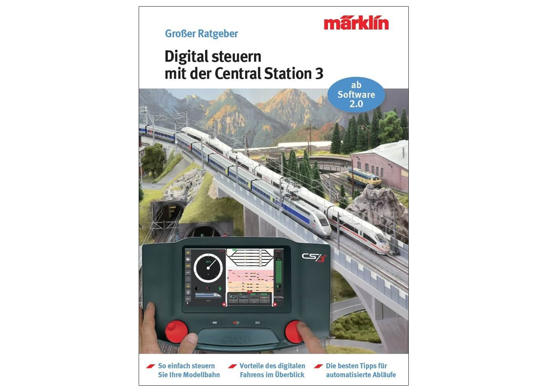 """Digital Control with the Märklin Central Station 3"" Model Railroad Manual"