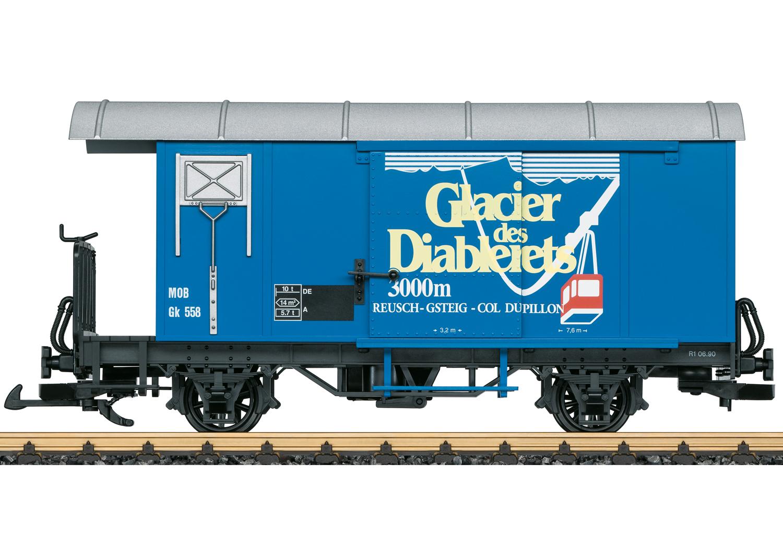 MOB GLACIER Freight Car
