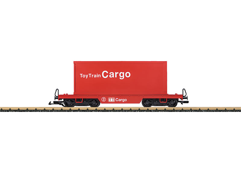 Toytrain Flat Car for Containers