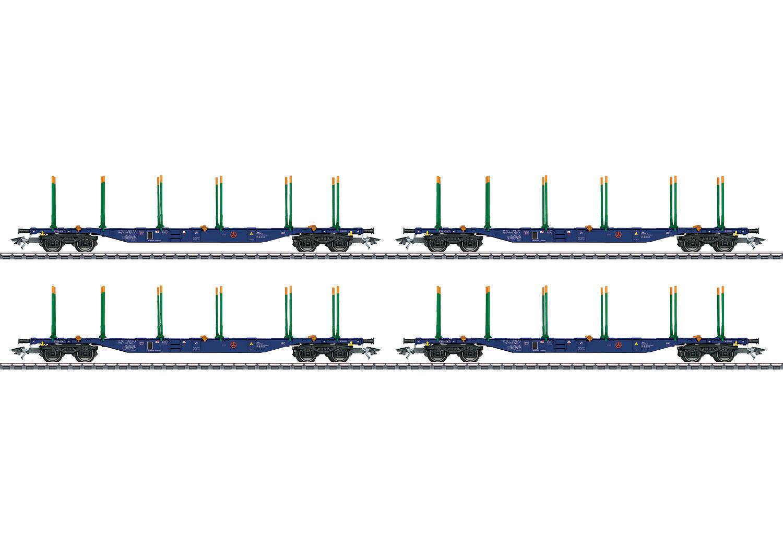 KLV-Tragwagen-Set der Bauart Sgnss