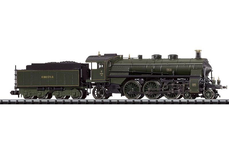 Schnellzug-Schlepptenderlokomotive.