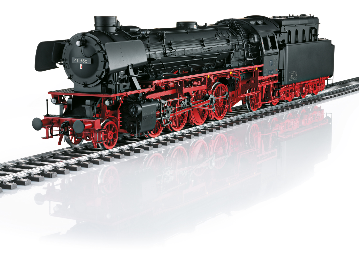 Steam Locomotive with a Tender