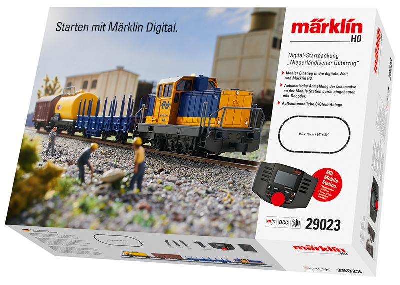 """Coffret de départ Digital """"Train marchandises néerlandais"""""""