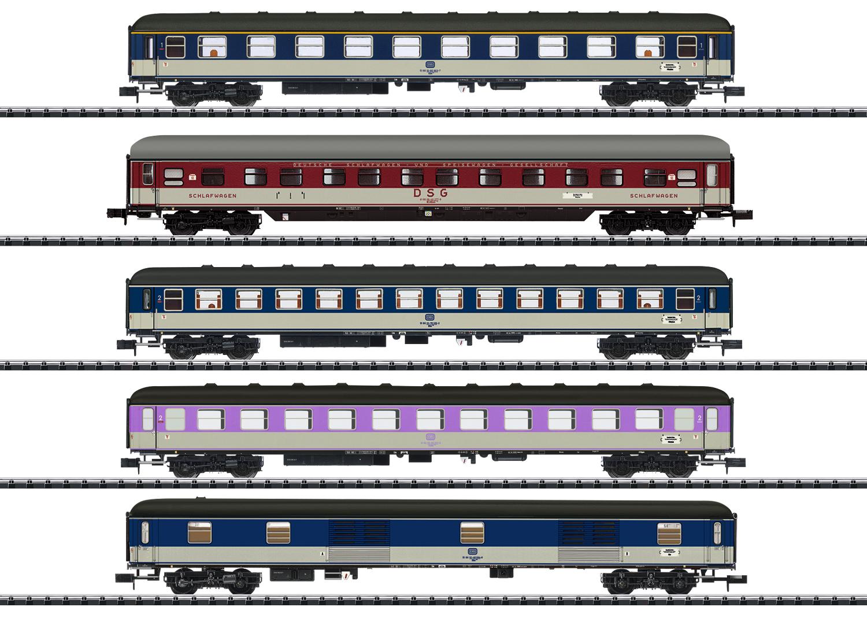 """Schnellzugwagen-Set """"D 730"""""""