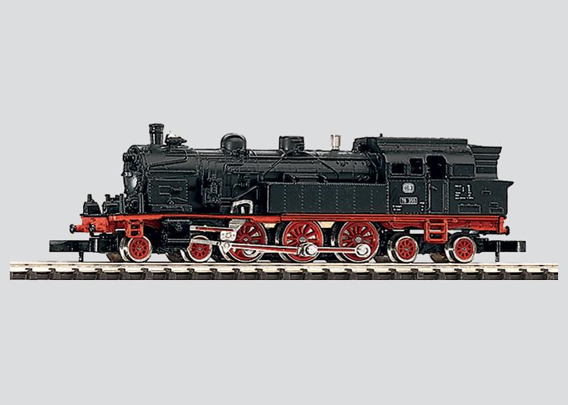 Personenzug-Tenderlokomotive