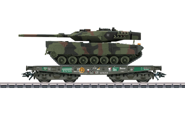 Type Rlmmps Heavy-Duty Flat Car