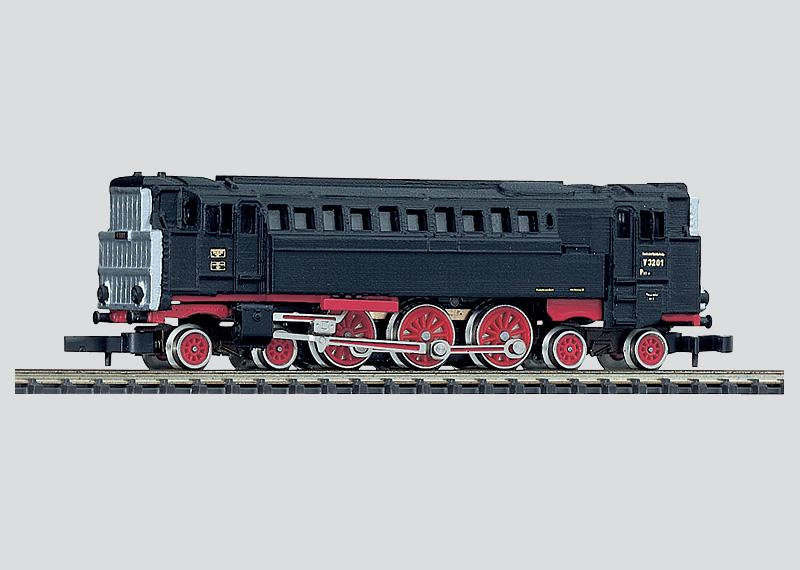 Dieselpneumatische Drucklokomotive