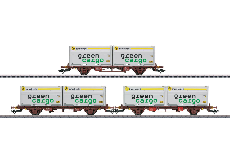 Type Lgjns Container Transport Car Set