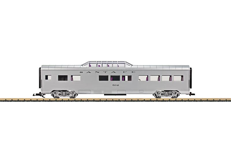"""Streamliner-Panoramawagen der """"Santa Fe"""""""
