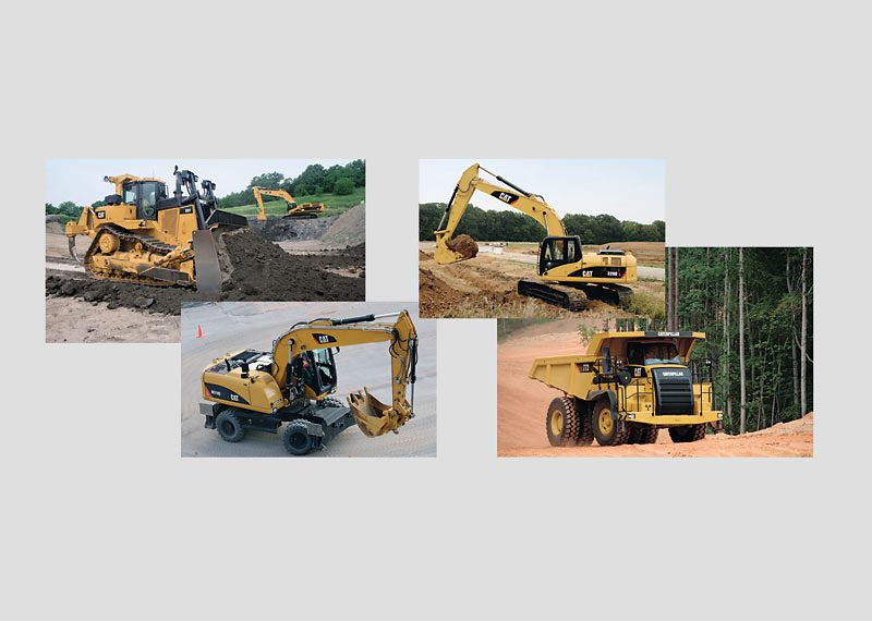 """""""CAT"""" H0 Construction Machinery Sales Package."""