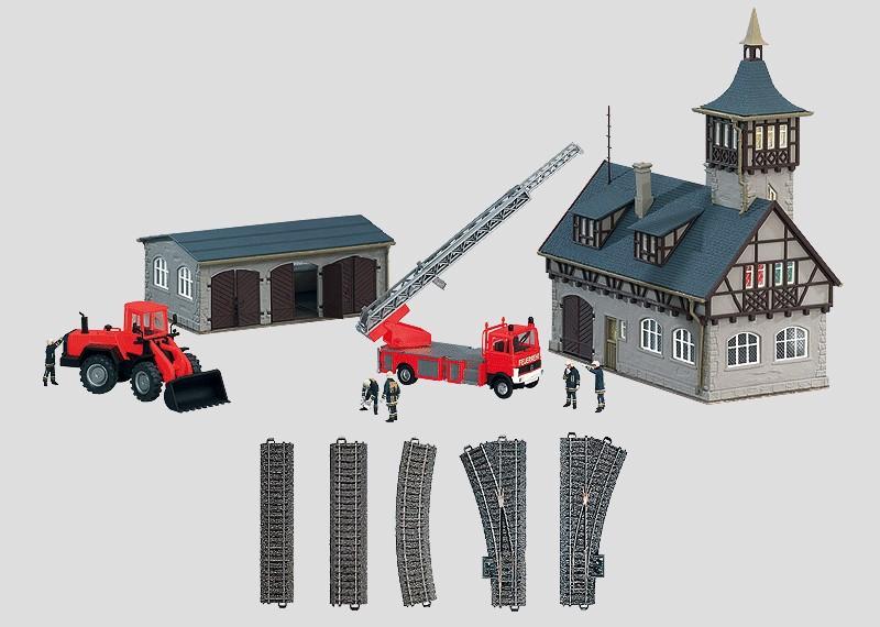 """Fire Department"" Theme Extension Set."