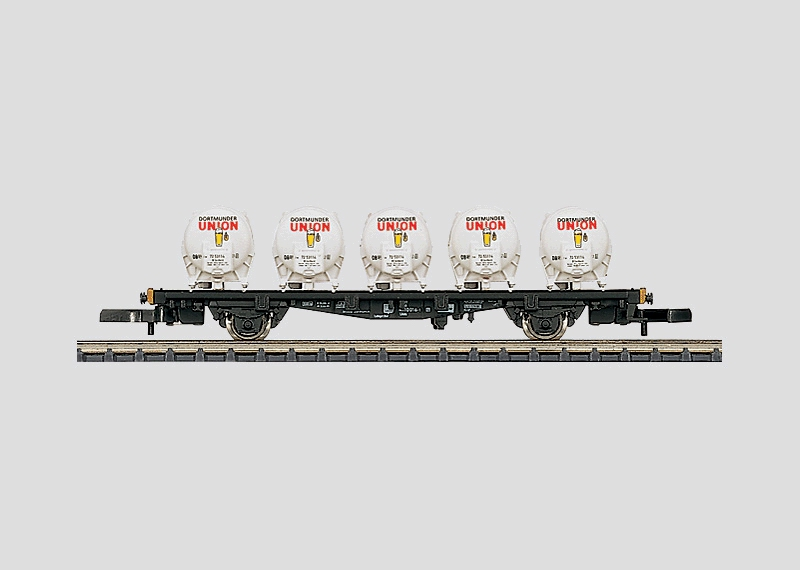 Flat Car for Containers.