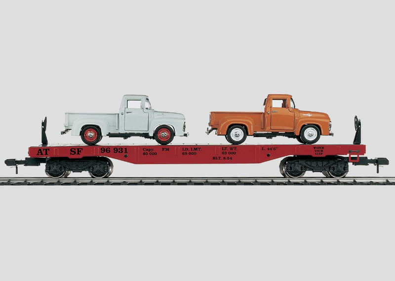Flat Car with a Load.