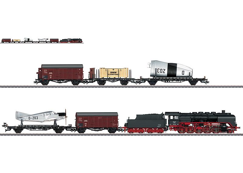 Airplane Transport Train Set.