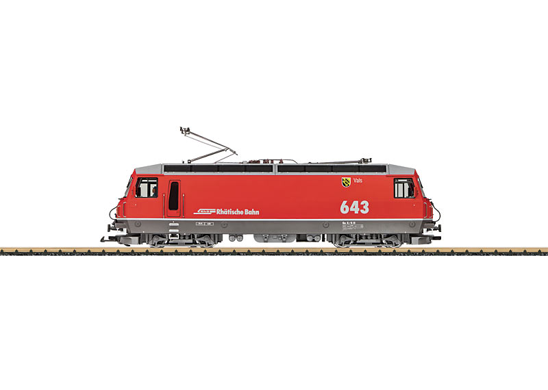 "RhB Class Ge 4/4 III Electric Locomotive, Road Number ""643"""