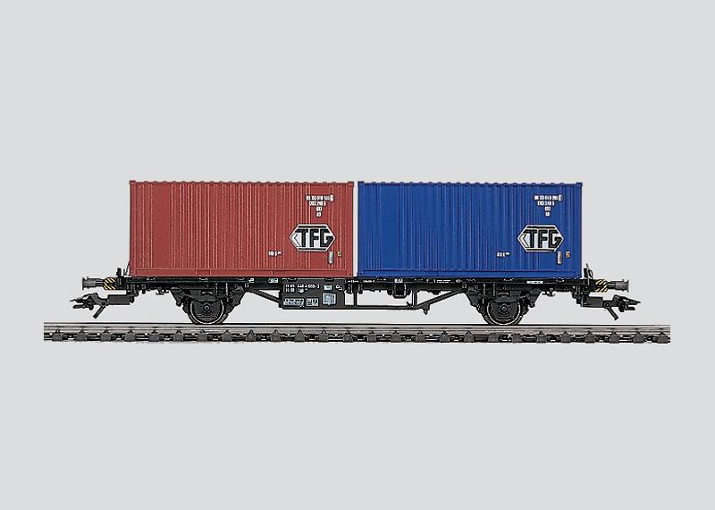 Containerwagen.