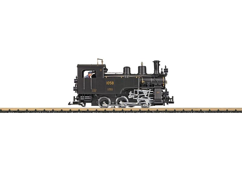 SBB Brünig Railroad Class HG 3/3 Steam Locomotive