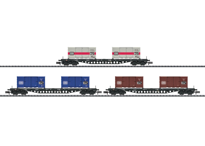 """Güterwagen-Set """"Containertransport"""""""