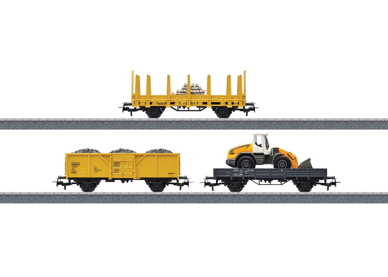 Märklin h0 44083 wagons-set chantier