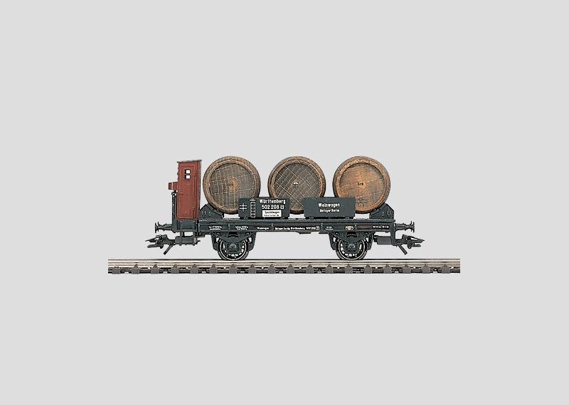 Weinfasswagen.