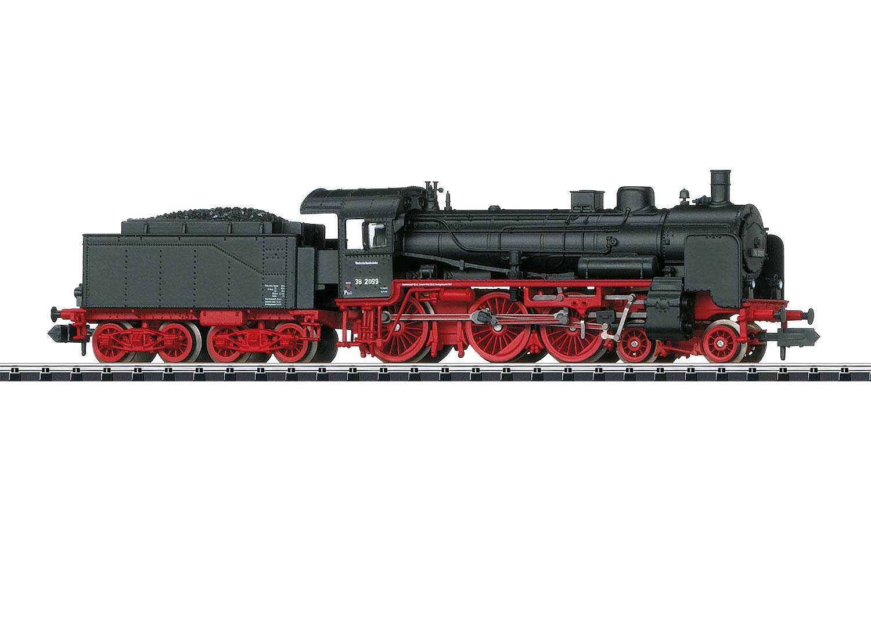 Dampflokomotive mit Schlepptender