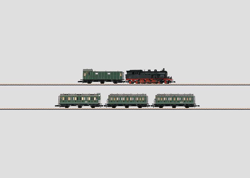 Commuter Service Train Set.