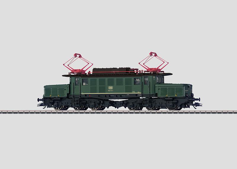 Heavy Freight Train Electric Locomotive.