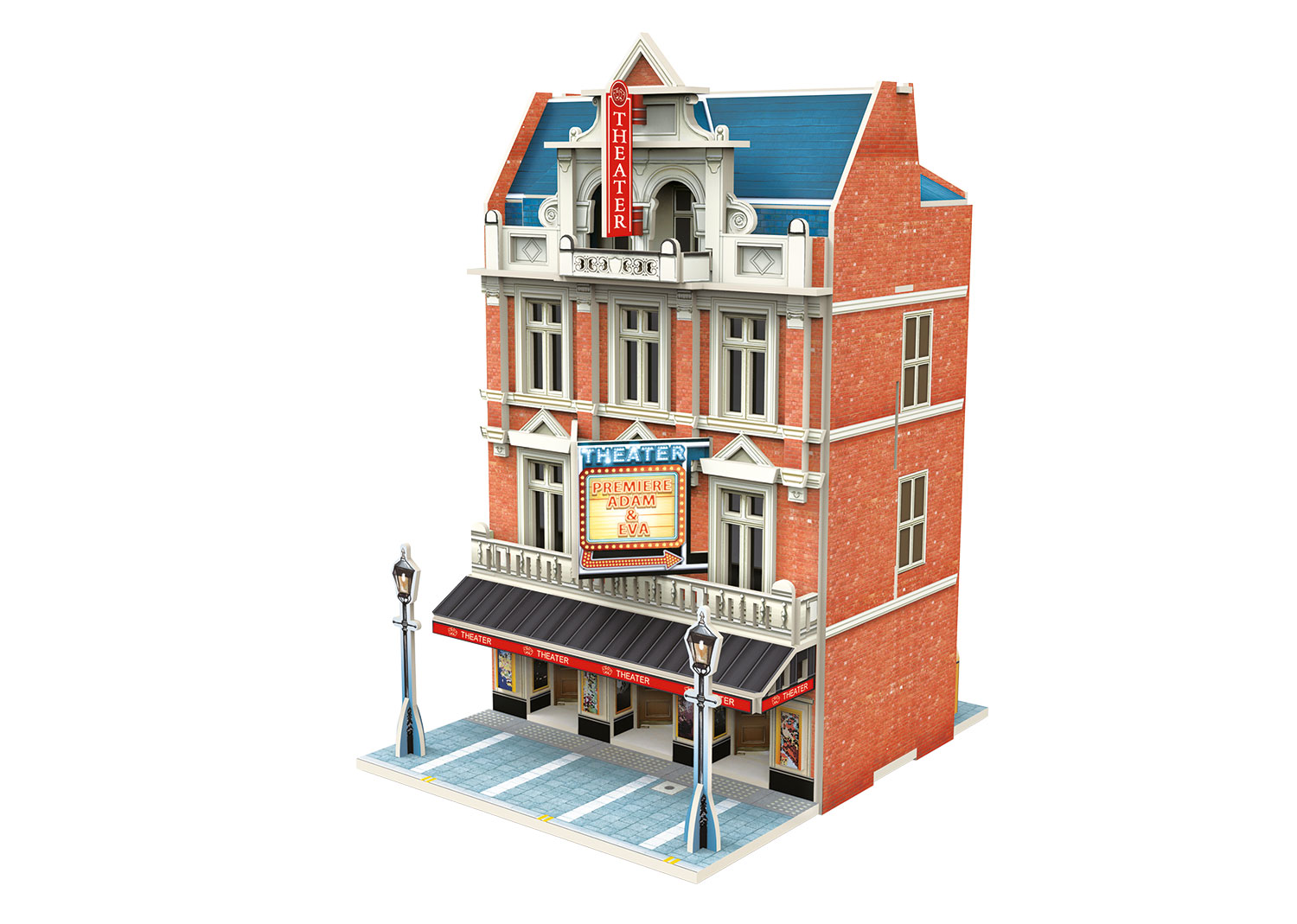"Märklin Start up - ""Theater"" 3D Building Puzzle"