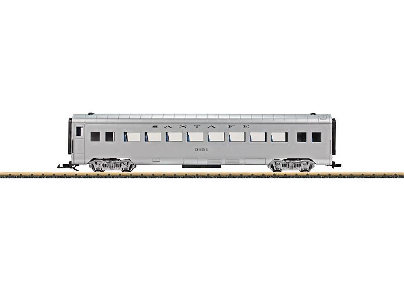"Streamliner-Reisezugwagen der ""Santa Fe"""
