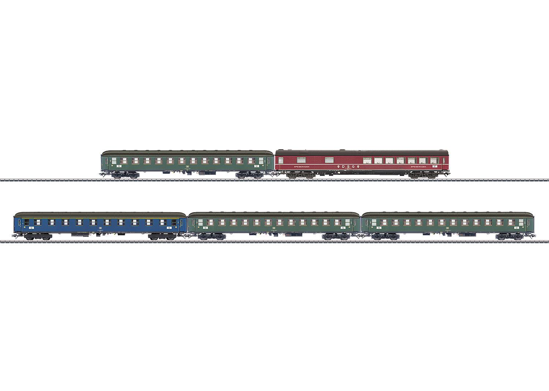 Schnellzugwagen-Set
