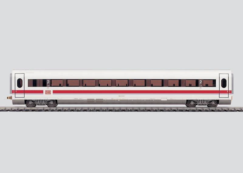Großraumwagen zum Modell des ICE 2