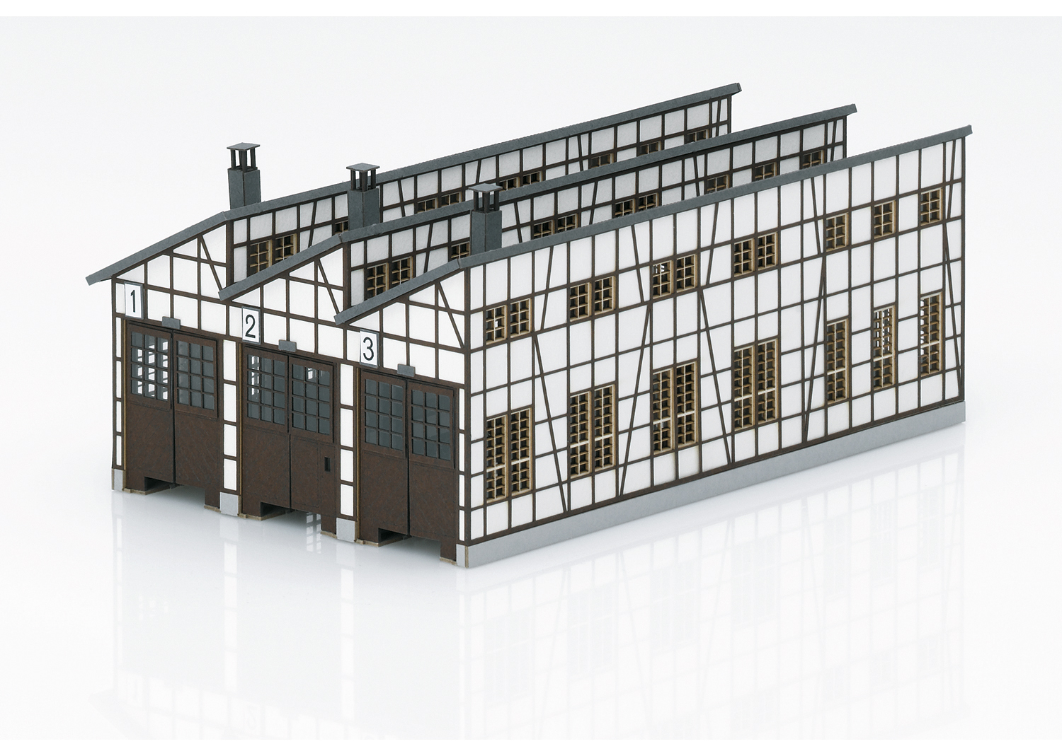"""Building Kit of the """"Rottweil"""" Locomotive Shed"""