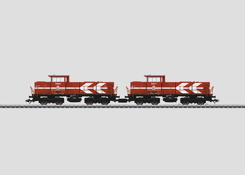 2 Diesel Locomotives.