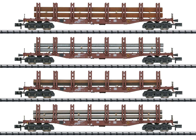 "Güterwagen-Set ""Stahltransport"""