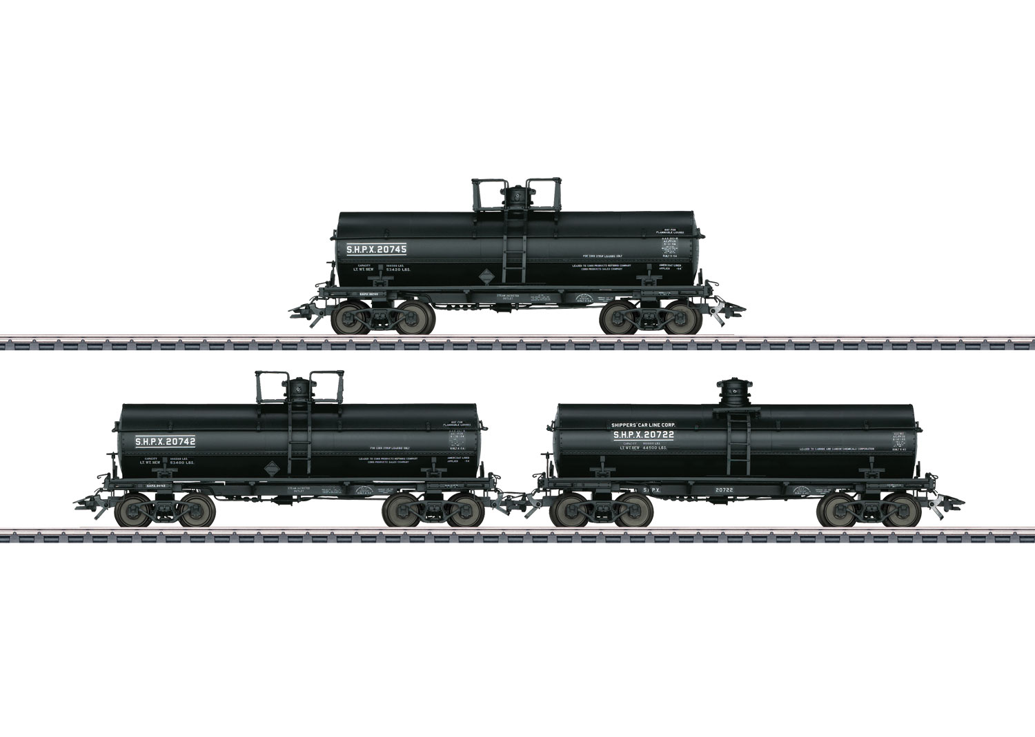Set with 3 Tank Cars