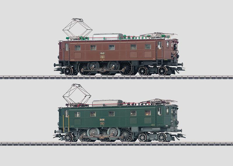 Double Electric Locomotive Set.