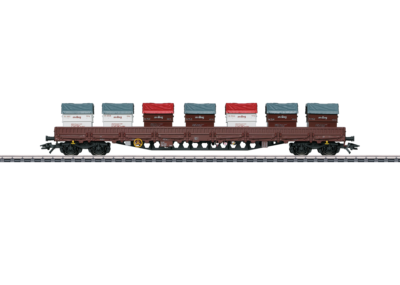 Niederbordwagen Bauart Rens 2