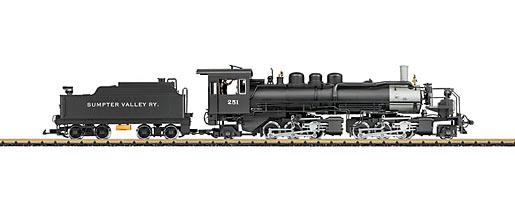 """Sumpter Valley"" Mallet Heavy Steam Locomotive"