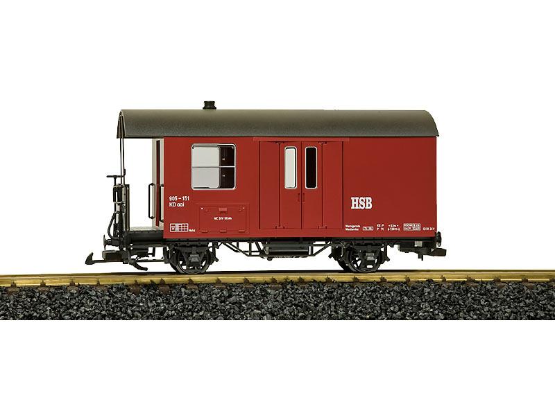 HSB Gepäckwagen 905-151