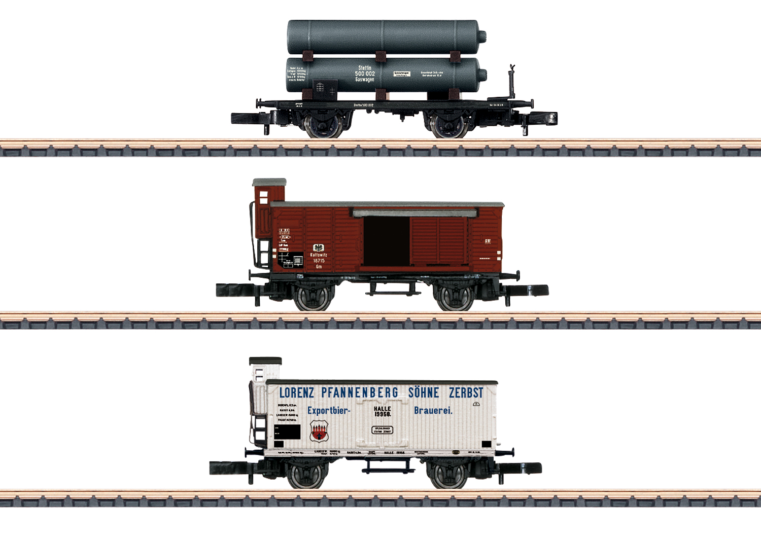 K.P.E.V. Freight Car Set