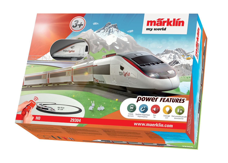 """Märklin my world - Startpackung """"TGV Lyria""""."""