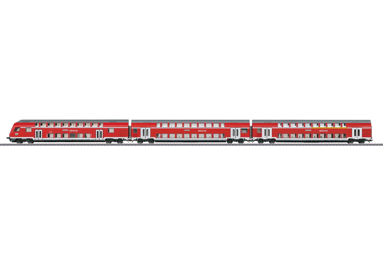 """Doppelstockwagen-Set """"Regio DB"""""""