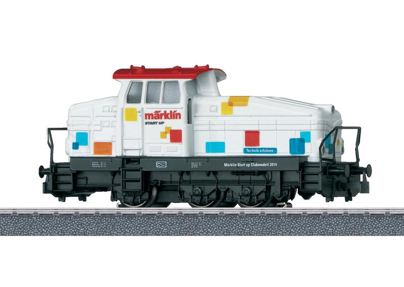 """""""Start up"""" Diesel Locomotive."""