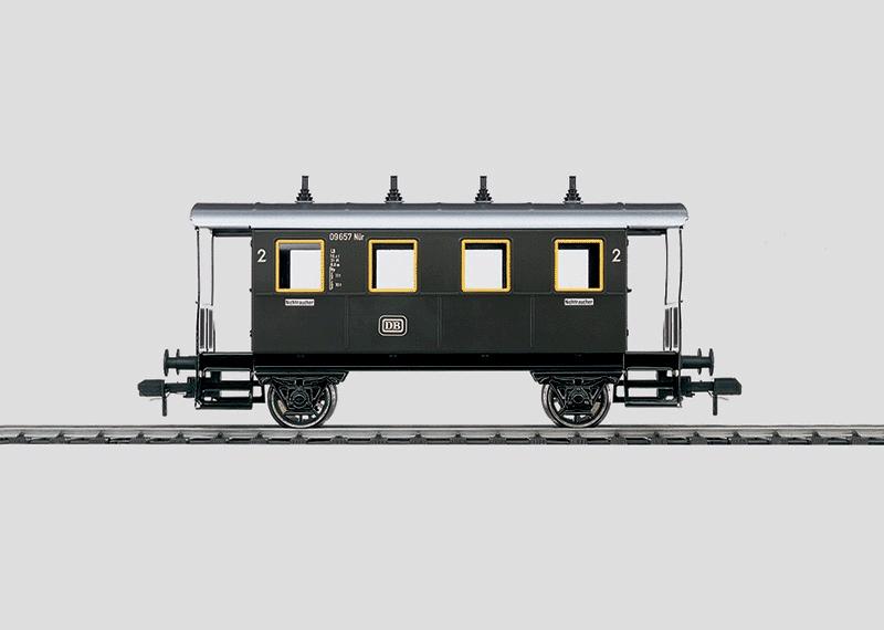 Branch Line Passenger Car.