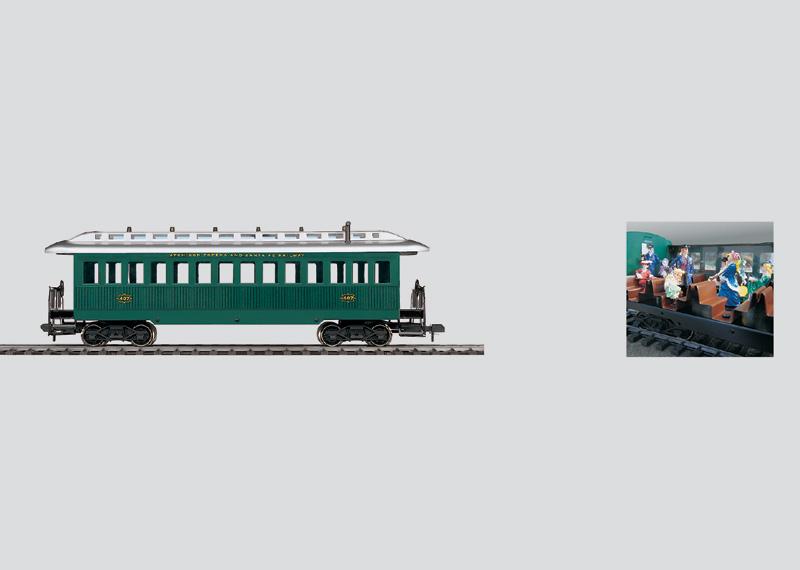 Four-Axle Passenger Car.