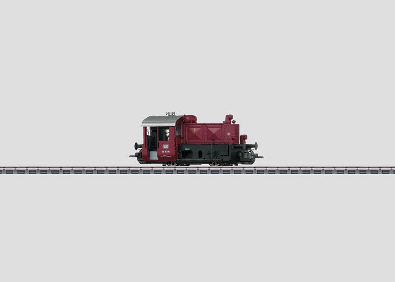 Diesel-Kleinlokomotive.