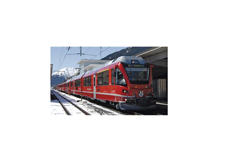 """RhB Class ABe 8/12 """"Allegra"""" Powered Rail Car Train"""