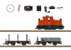 Freight Train Starter Set, 230 Volts, with a Mobile Station