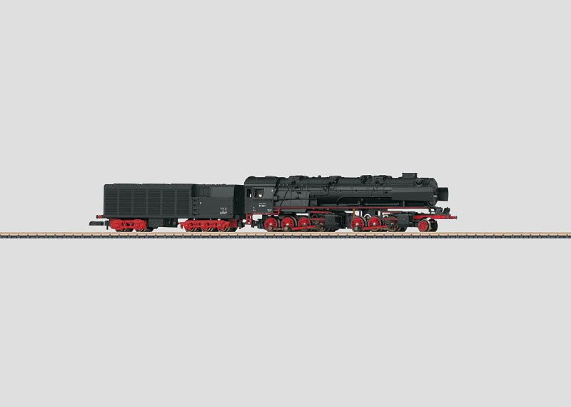 Dampflokomotive mit Kondenstender.