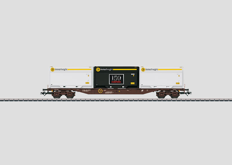 Container-Tragwagen.